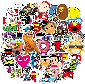 Amazon Com Cute Vsco Vinyl Stickers For Kids Hydroflasks Water