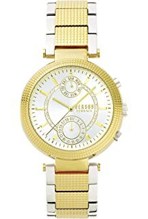 Versus by Versace Womens STAR FERRY Quartz Stainless Steel and Gold Plated Casual Watch