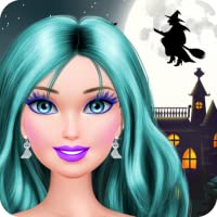 Halloween Makeover: Spa, Makeup and Dressup Salon