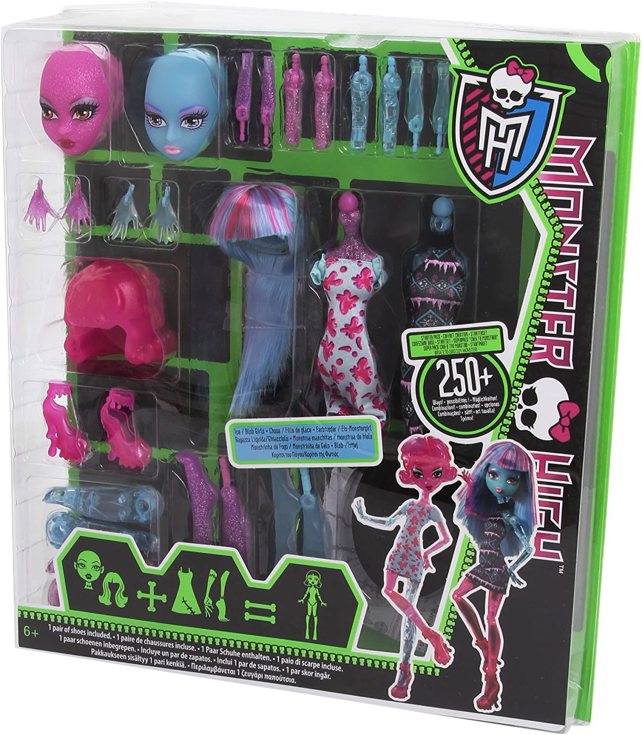 Amazon.es: Monster High Y0416 - CREA tu Monstruo, Accesorios para ...