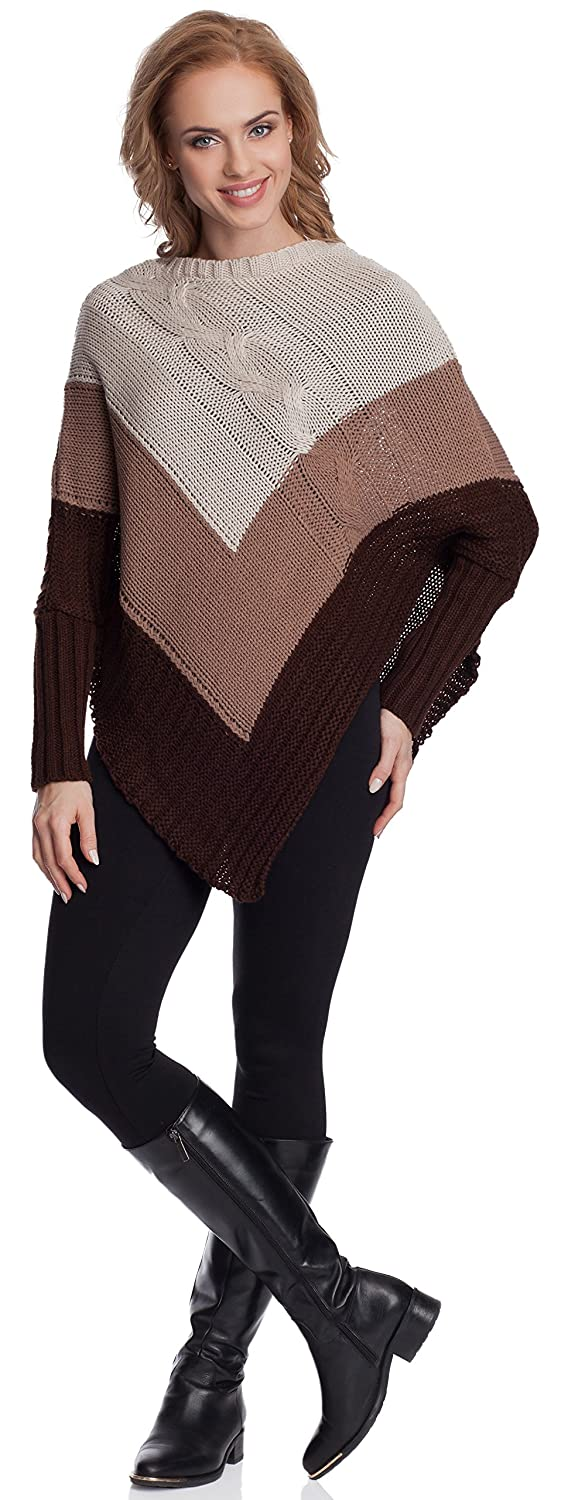 Merry Style Poncho Donna GR1C2