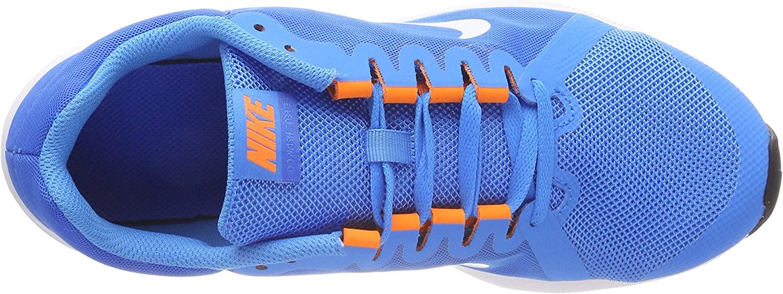 Nike Downshifter 8 (GS), Sneakers Basses Homme Multicolore Blue Hero Football Grey Cobalt Blaze 402