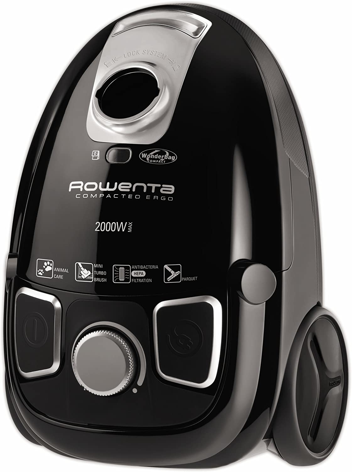 Rowenta RO5295 - Aspiradora, 2000 W, color negro: Amazon.es: Hogar