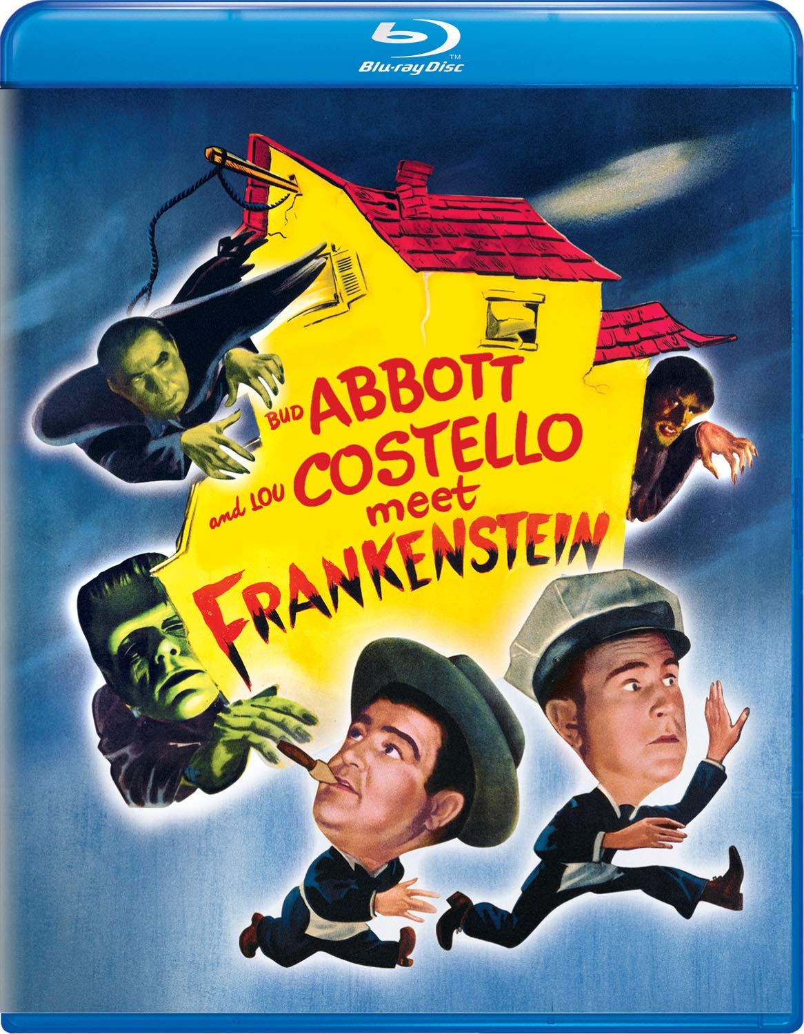 Blu-ray : Abbott And Costello Meet Frankenstein (Blu-ray)