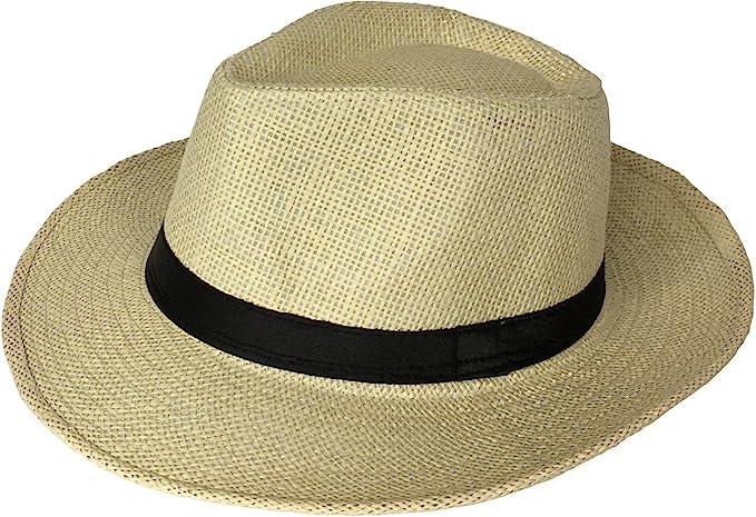 Miobo - Cappello Panama - Donna Beige 58  Amazon.it  Abbigliamento d7130c502229
