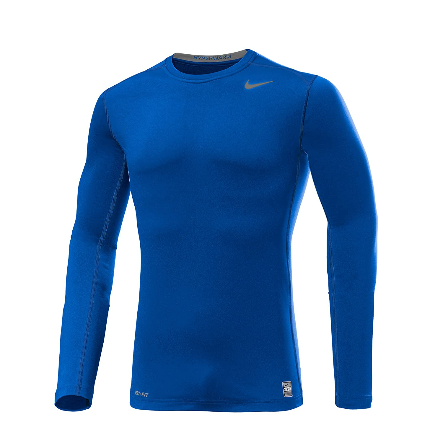 NIKE PRO COMBAT Compression Shirt Hyperwarm Athletic Casual
