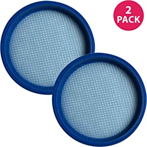 Crucial Vacuum Replacement Vacuum Filter Part # 440005953 - Compatible with Hoover Air Model 3.0 BH50120, BH50140, BH50100, BH50100RM, BH50170, BH50111, BH50100, BH50110, BH50120 - Bulk (2 Pack)