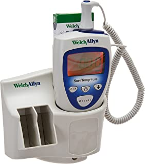 Welch Allyn 01692-200 SureTemp Plus 692 Electronic Thermometer with Wall Mount, Security System