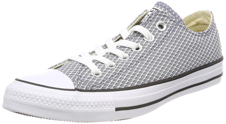 Bleu (lumière voiturebon blanc Natural 534) 42 EU Converse Chuck Taylor CTAS Ox Textile, Chaussures de Fitness Femme