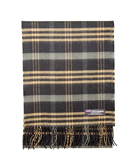2 Ply 100 Cashmere Winter Scarf Elegant Collection Made In Scotland