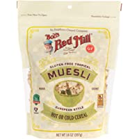 Bob's Red Mill Gluten Free Tropical Muesli, 14-ounce (Pack of 4)