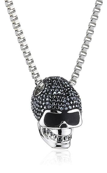 Swarovski taddeo skull pendant amazon jewellery swarovski taddeo skull pendant mozeypictures Images