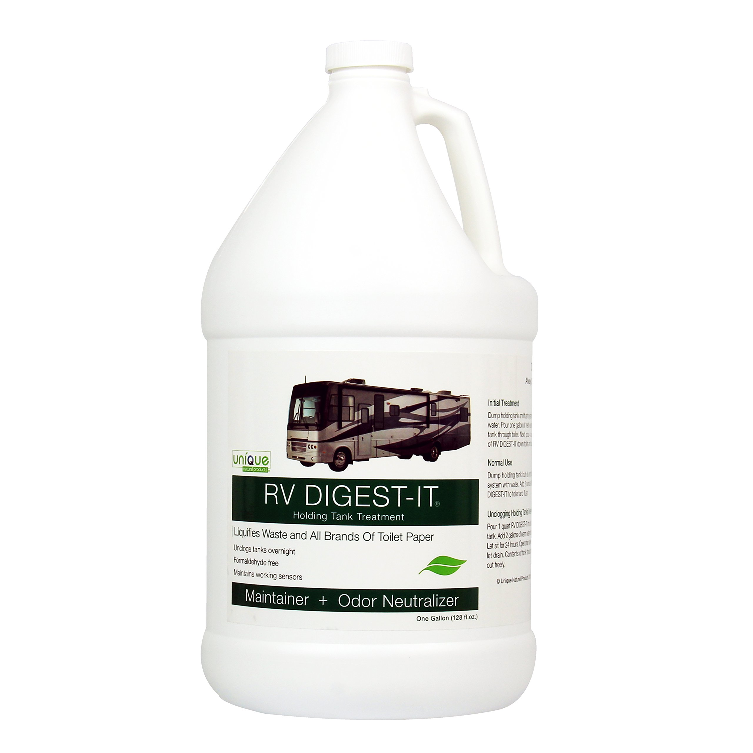 RV DIGEST-IT - Holding Tank Treatment by Unique-1 gallon LIQUID by Unique Camping & Marine