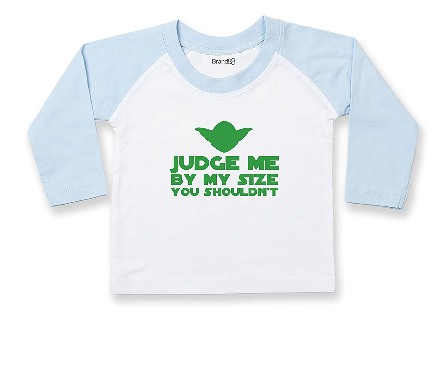 Brand88, Judge Me By My Size You Shouldn't, À manches longues de base-ball T-shirt LW25T_AU055