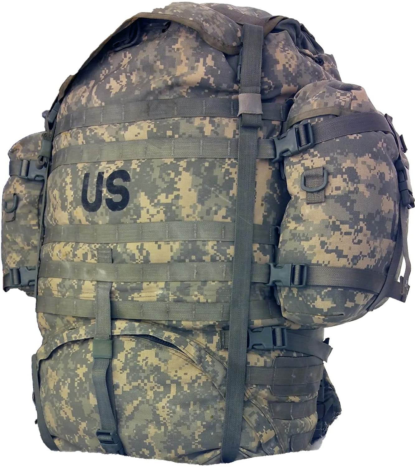 US Military Issue MOLLE II Large Rucksack Rifleman Field Pack Complete Set UP Genuine U.S. Military Issue