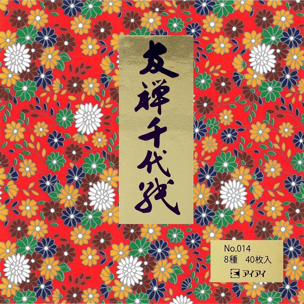 Origami Yuzenchiyogami 15cm No.014 Ehime