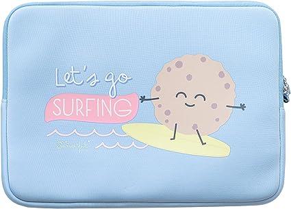 Funda de Portatil Mr.Wonderful - Lets go Surfing (portátil 13,3): Amazon.es: Informática