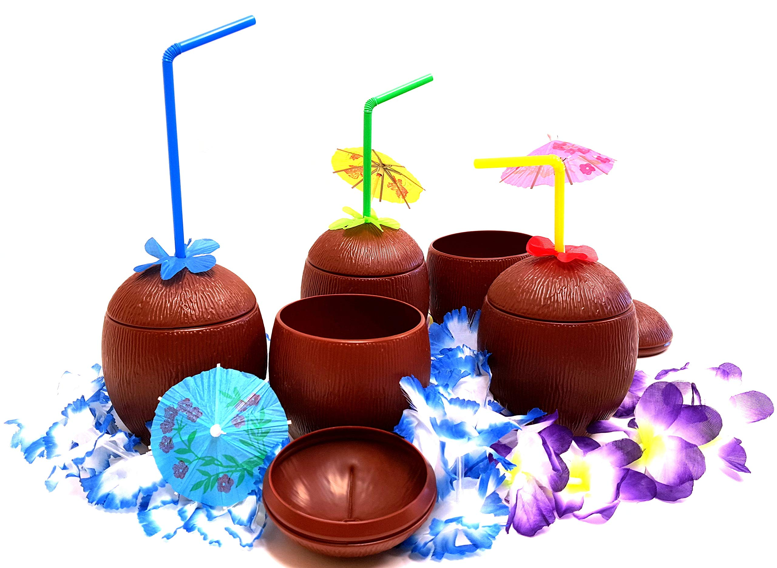 Coconut Cups, Tiki Bar Coconut Cups, by Dondor (12) by Dondor