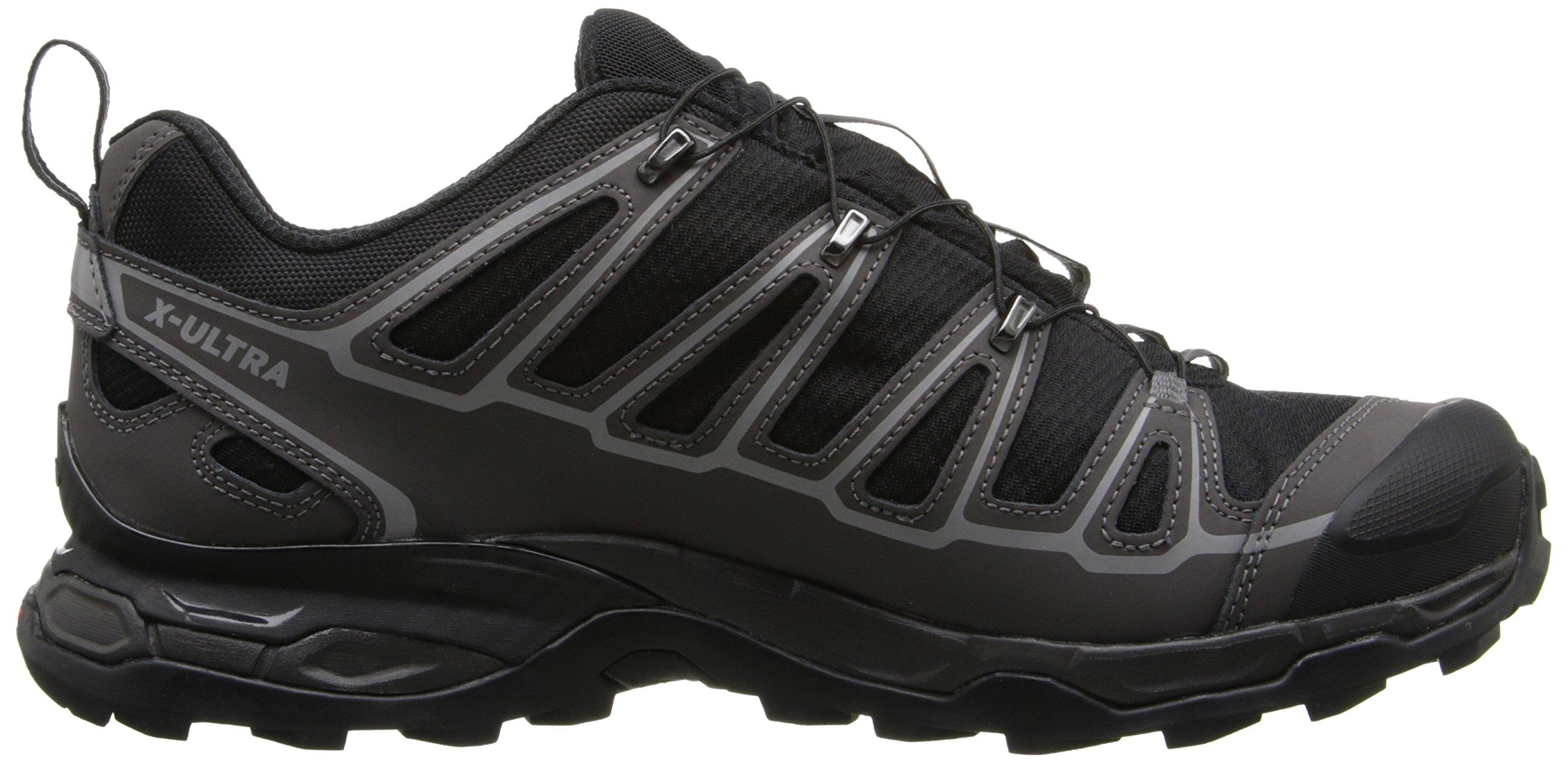 Salomon Men's X Ultra 2 GTX Hiking Shoe, Black/Autobahn/Aluminum, 7 M US by Salomon (Image #7)