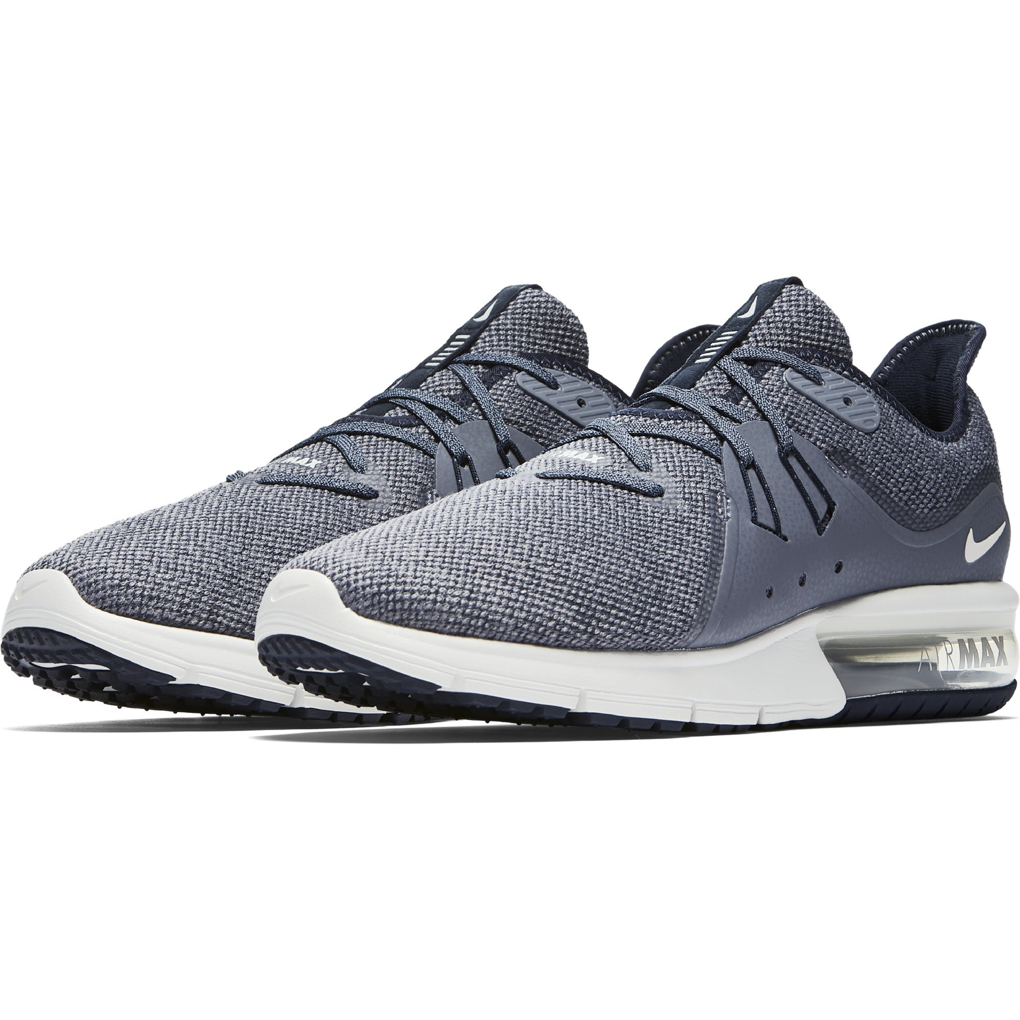 NIKE Air Max Sequent 3-921694402 - Color Graphite-Blue - Size: 9.0 by NIKE