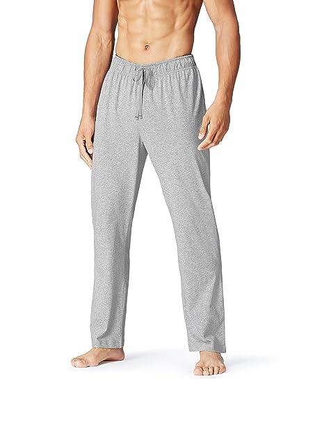 FIND Pantalón Largo de Pijama para Hombre, Gris (Grey Melange), 3X-