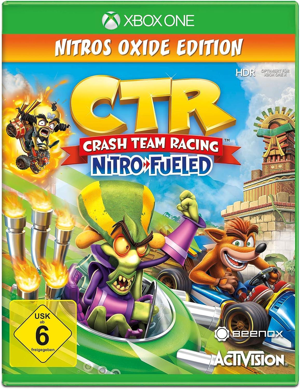 Crash Team Racing Nitro Fueled - Nitros Oxide Edition - Xbox One [Importación alemana]: Amazon.es: Videojuegos