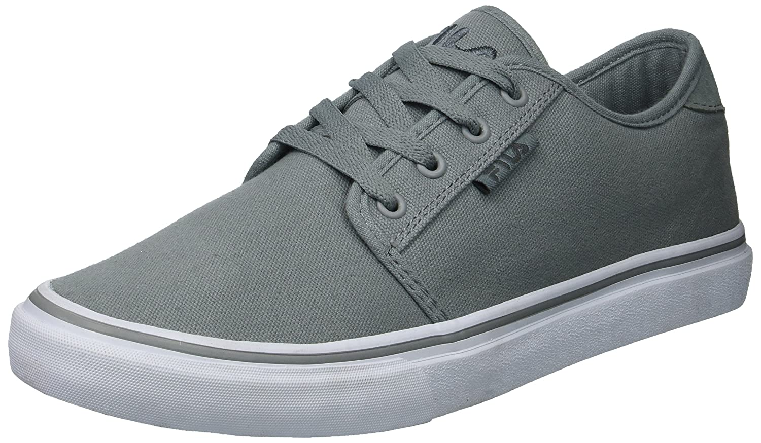 Fila Men's Easterly Canvas Walking Shoe 8.5 D(M) US|Monument/Pewter/White