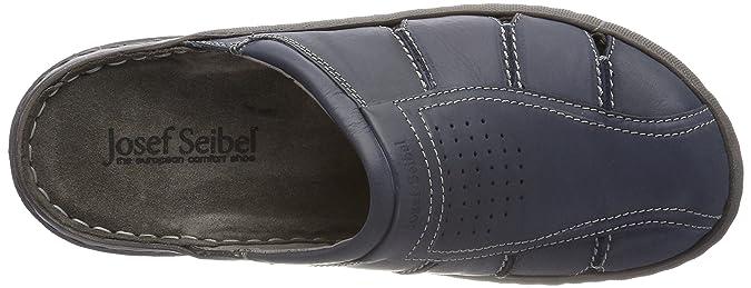 Josef Seibel SMU-Logan 22, Zuecos para Hombre, Azul (Jeans 540), 47 EU