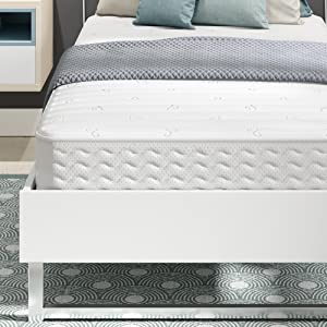 Signature Sleep Contour 8 Inch Reversible Independently Encased Coil Mattress with CertiPUR US certified foam, Twin