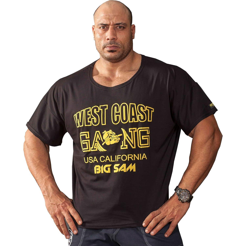 BIG SM EXTREME SPORTSWEAR Herren Ragtop Rag Top Sweater T-Shirt Bodybuilding 3033
