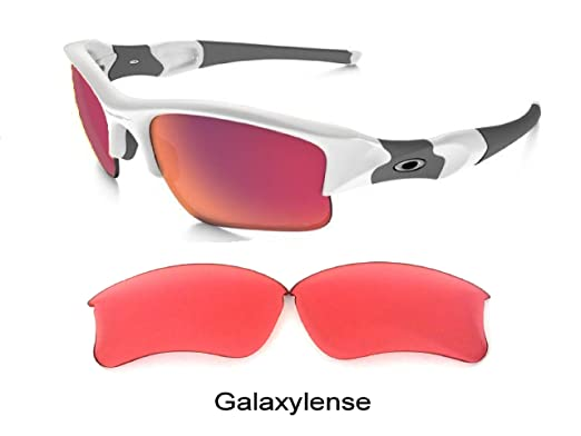 c4435ed465 Galaxy Replacement Lens For Oakley Flak Jacket XLJ Sunglasses Prizm  Technology Ruby Golf Size  Regular  Amazon.co.uk  Clothing