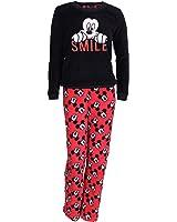 Disney, Mickey Mouse, Ladies Stunning, 2 Piece Pyjama Set, PJ's, Nightwear, long