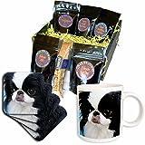 3dRose Dogs Japanese Chin, Japanese Chin, Coffee Gift Baskets