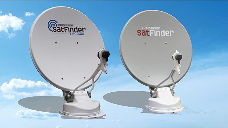 SatFinder Evolution - Antena de satélite automática, 85 cm ...