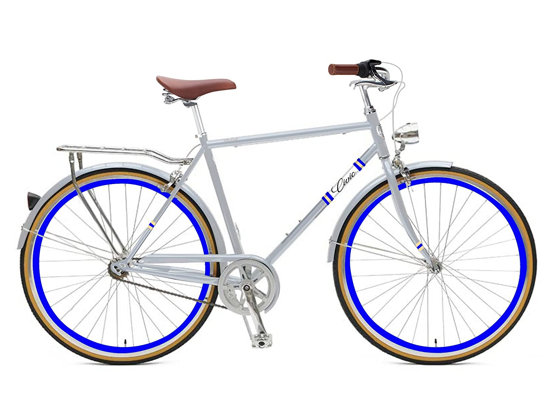 Zycle Fix 58 cmバイク固定ギアメンズCivic Cityシリーズ固定ギア自転車 – ダイヤモンド B01MS8HHN7
