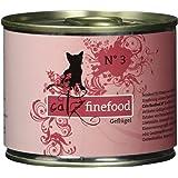 Catz finefood Katzenfutter No.3 Geflügel 200g, 6er Pack (6 x 200 g)