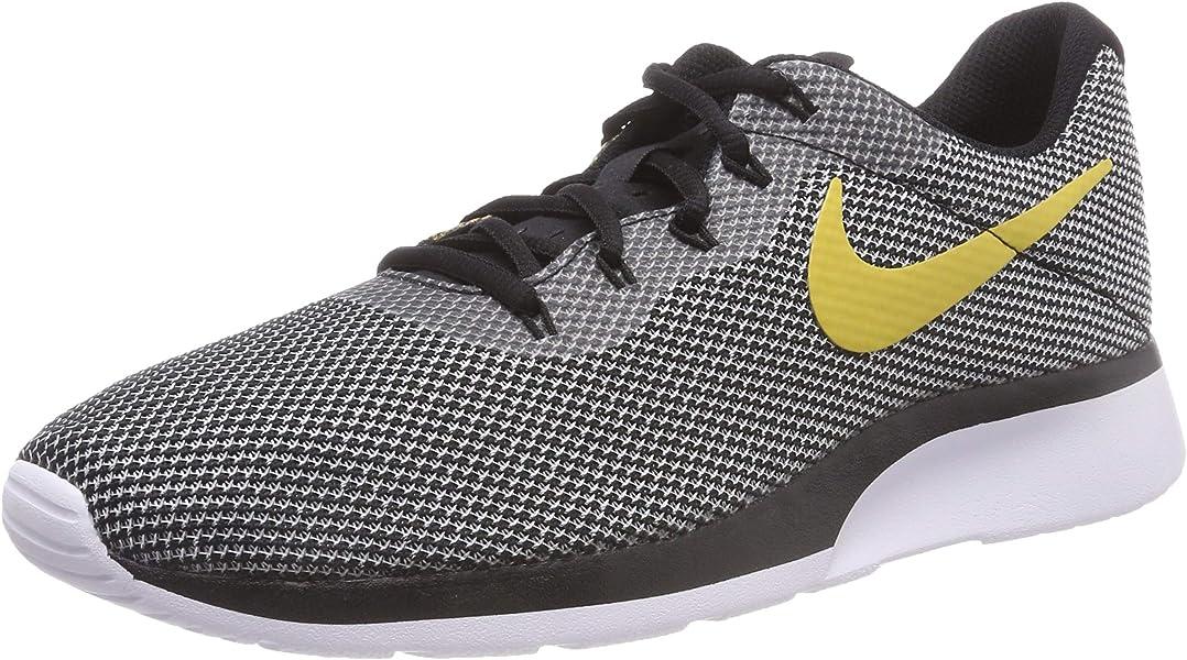 on sale 821de dfdcf Nike Tanjun Racer, Sneakers Basses Homme, Multicolore (Black Wheat  Gold White