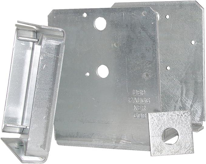 USP Structural Connectors #EPB6608-WEST 6x6 Elev Post Base