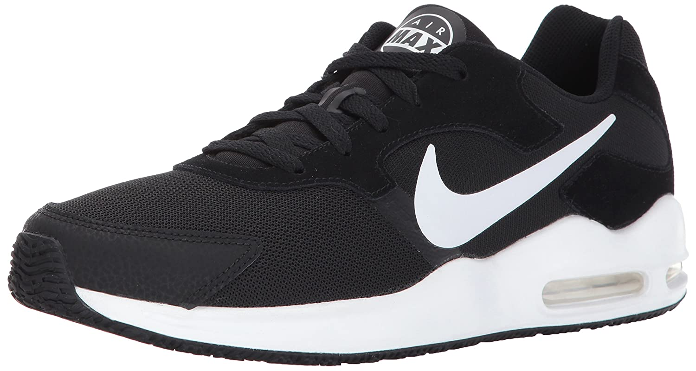 NIKE Men's Air Max Guile Running Shoe B005GNVA9G 7 D(M) US|Black/White