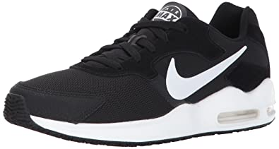 factory authentic 56d3f a5c6d Nike Mens Air Max Guile Running Shoes Black White 10