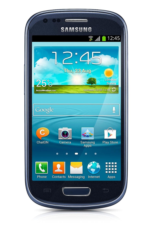 Amazon.com: Samsung Galaxy S3 Mini GT-i8200 Unlocked Cellphone,  International Version, Retail Packaging, Blue: Cell Phones & Accessories