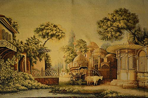 Tache 27×49 Inches Exotic Persian Nice Day Out Large Tapestry Jacquard Wall Hanging Art Decor