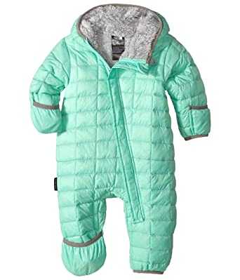 cc65bad22 THE NORTH FACE Bunting baby infant thermoball snowsuit SURF GREEN ...