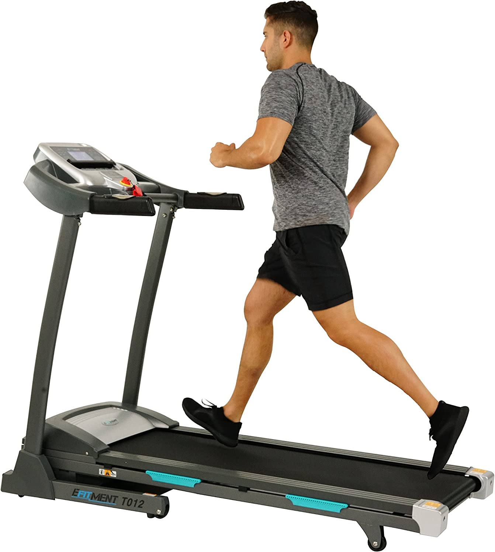 EFITMENT Auto Incline Bluetooth Electric Treadmill Machine