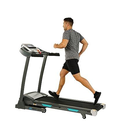 Amazon.com   EFITMENT Auto Incline Bluetooth Motorized Treadmill w ... eac6ca01b11