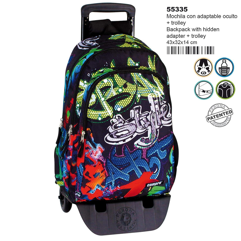 Montichelvo Detach.Trolley A.O Multicolour 43 cm Cmp Freestyle Travel Tote