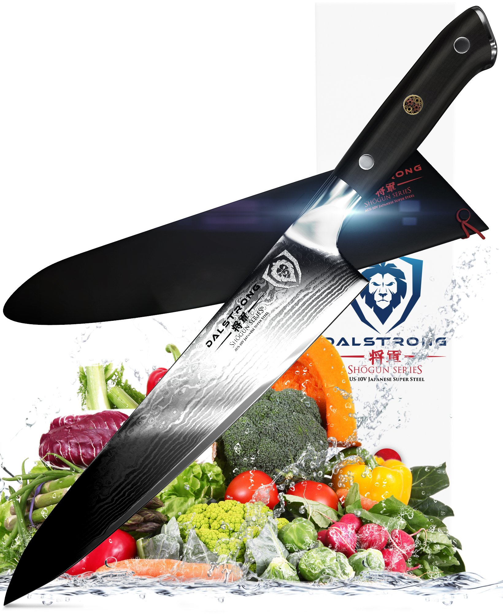 DALSTRONG Chef Knife - Shogun Series Gyuto - VG10 - 9.5'' (240mm) by Dalstrong
