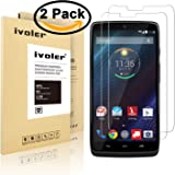 Motorola Droid Turbo(Verizon) XT1254 Screen Protector Glass- iVoler 0.2mm 2.5D Tempered Glass Screen Protector for Motorola Droid Turbo(Verizon) XT1254 with Lifetime Replacement Warranty (1-Pack) [in Retail Packaging]