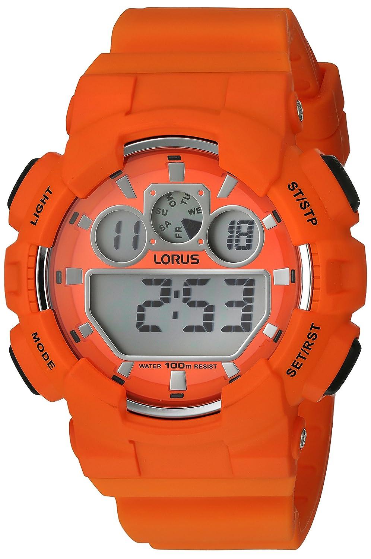 Lorus watches reloj para Hombre Digital de Cuarzo con brazalete de Silicona R2349JX9: Amazon.es: Relojes