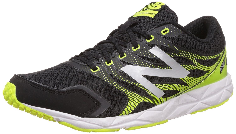New Balance 590, Zapatillas de Running Hombre 44.5 EU|Multicolor (Black/Yellow 065)